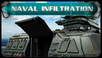 Naval Infiltration (Alien Shooter)