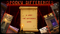 Spooky Differences (Spot the Differences Game)